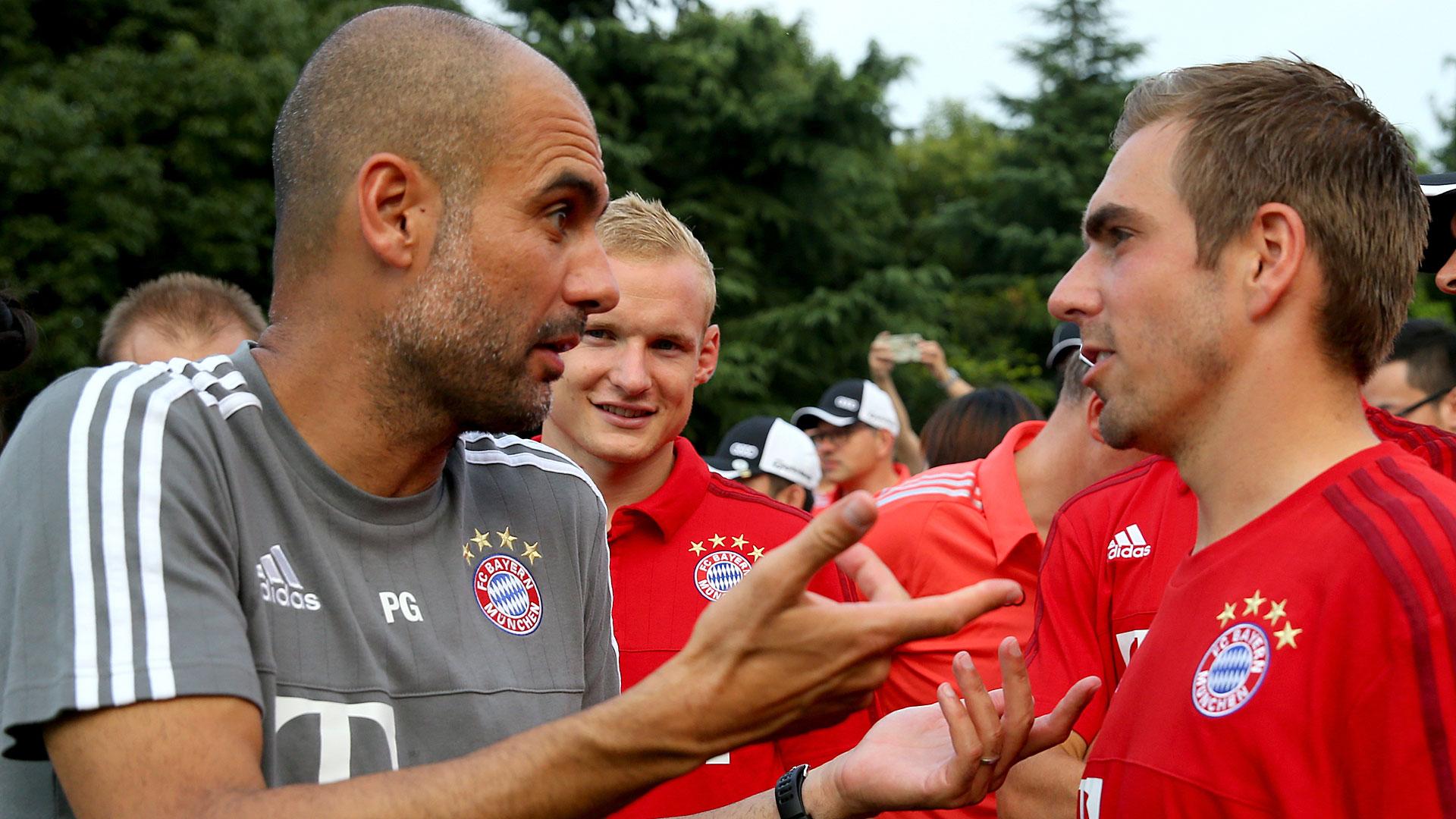 """""""O futuro do Guardiola não está nas mãos do Bayern"""", diz Lahm"""