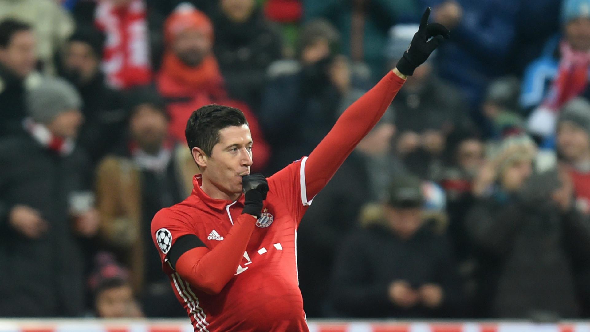 ROBERT LEWANDOWSKI BAYERN MUNCHEN UEFA CHAMPIONS LEAGUE 06122016