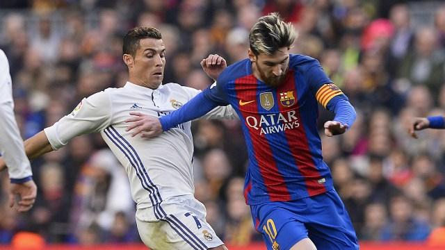 Cristiano Ronaldo Lionel Messi Barcelone Real Madrid