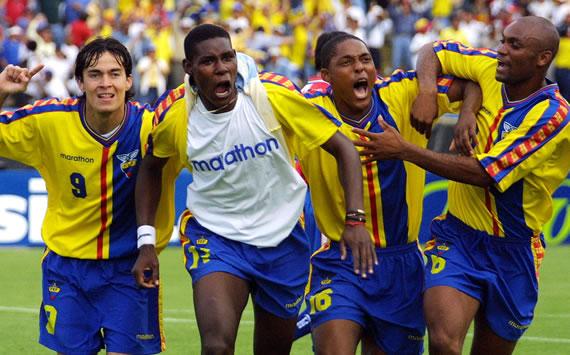 Brasil x Equador 1991