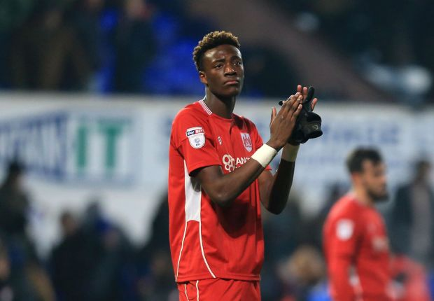 Chelsea striker Abraham determined to prove quality on loan at Swansea