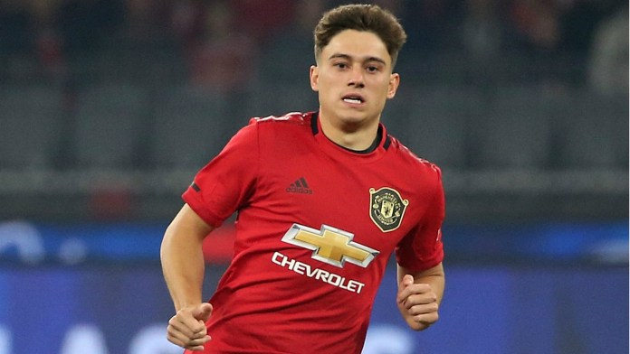 Image result for daniel james manchester united