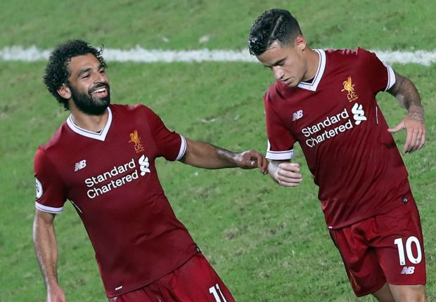 Klopp excited by Coutinho and Salah understanding at Liverpool