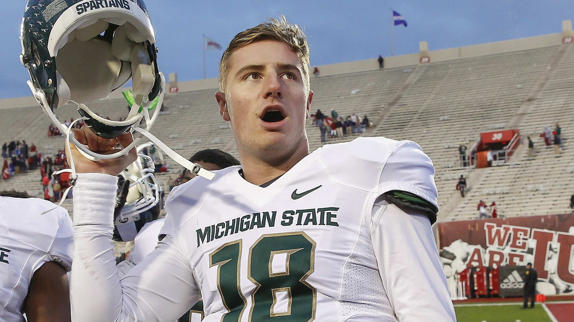 Michigan State QB Connor Cook not named a captain  NCAA