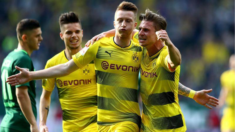 Bundesliga Report Werder Bremen 1 Borussia Dortmund 1