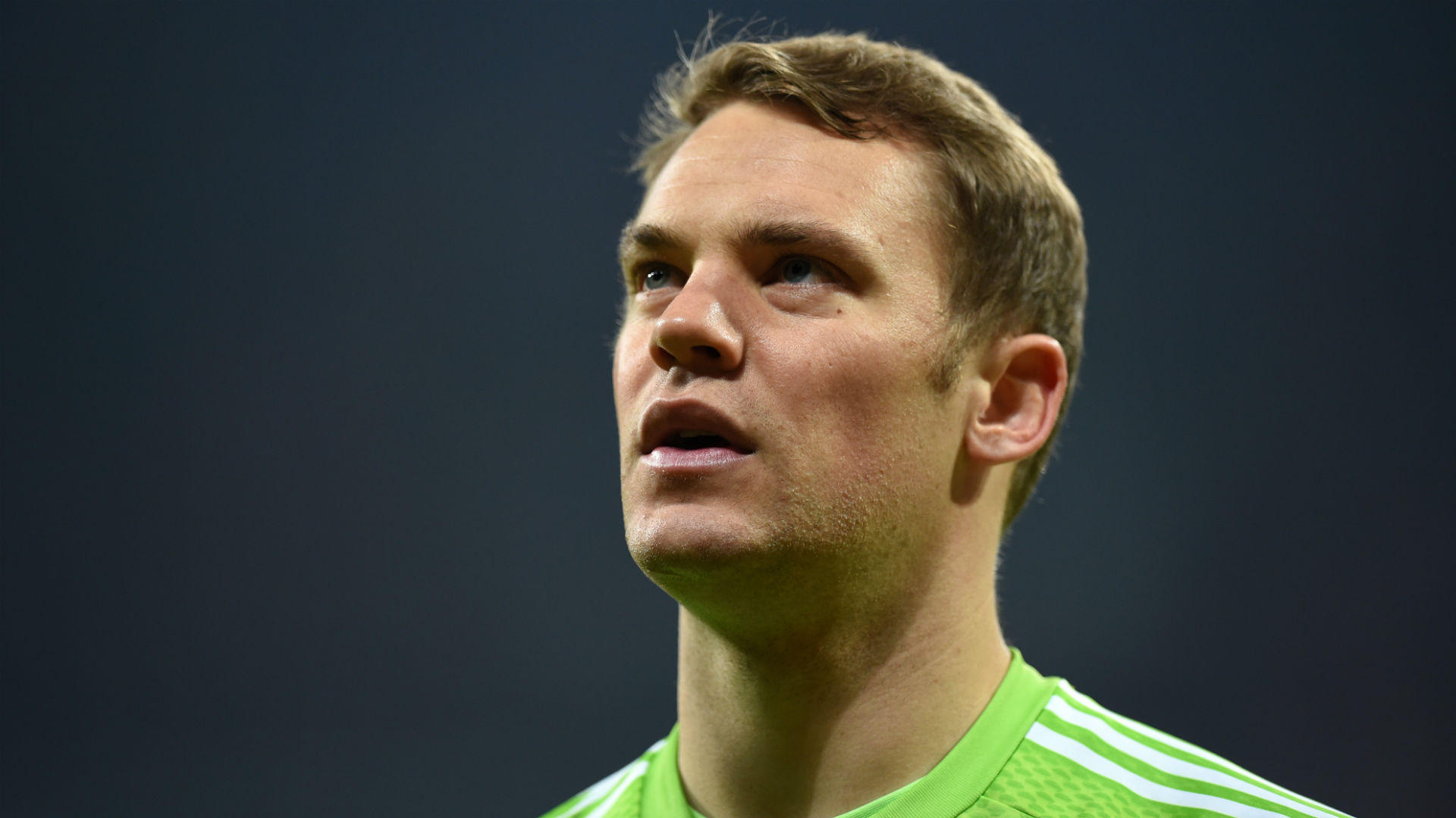 He races 25 yards out of his goal now to stop another Barcelona attack. If Neuer doesn't get our Top of the Match award, Imma give our player rater a piece ... - manuelneuer-cropped_1ikh4wpqspwm11b709c7y61mu1