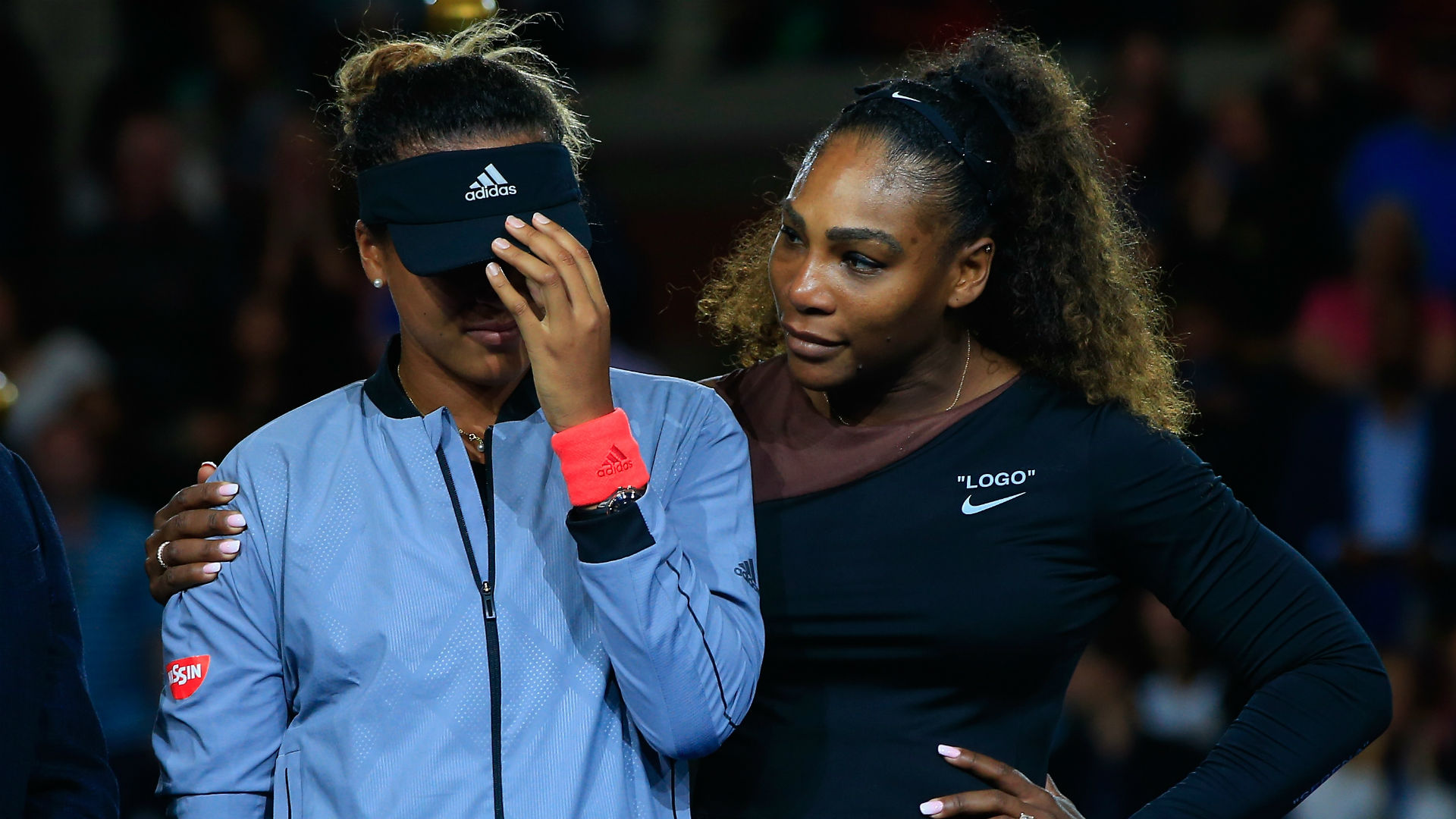 Naomi Osaka Serena Williams - cropped