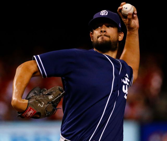 Mlb Trade Rumors Indians Interested In Padres Reliever Brad Hand