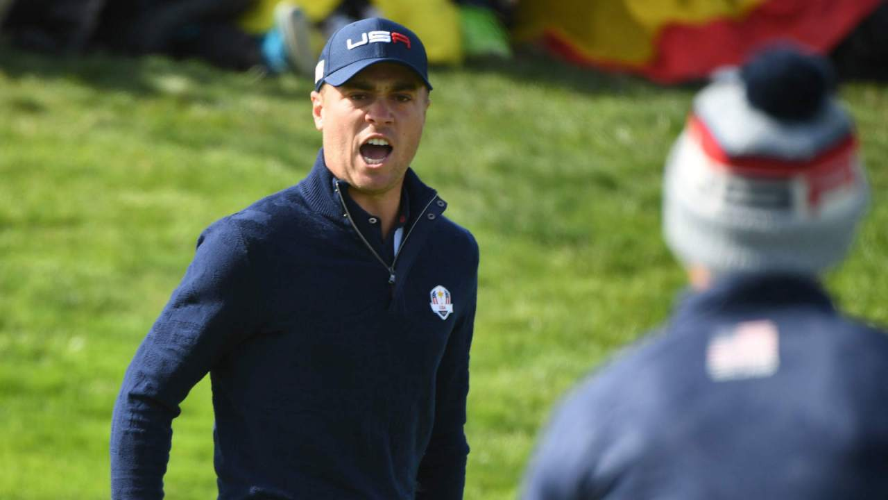 Image result for ryder cup 2018 justin thomas