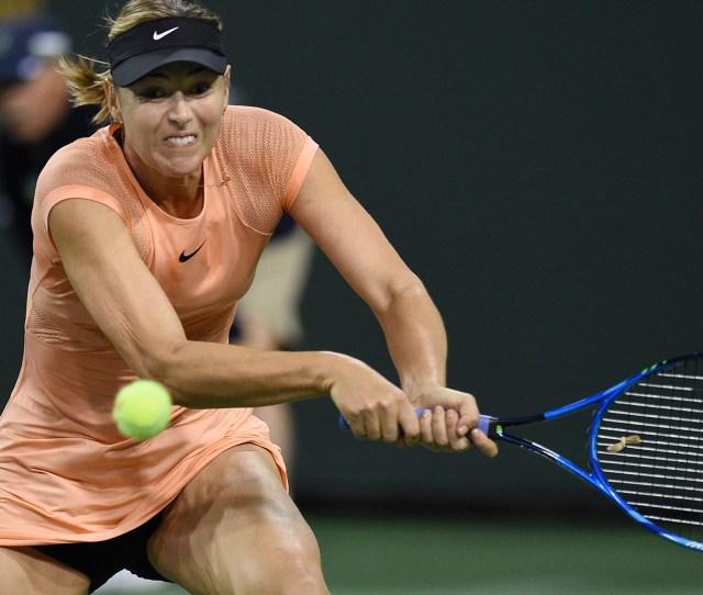 Maria Sharapova Stunned At Indian Wells