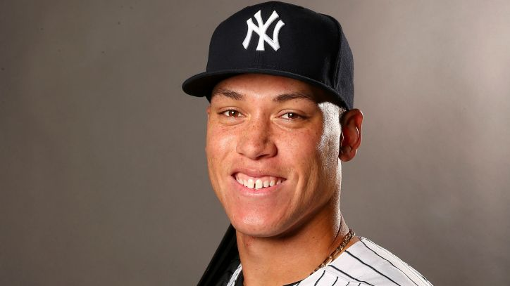 Image result for aaron judge smile