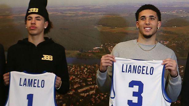 LaMelo & LiAngelo Ball