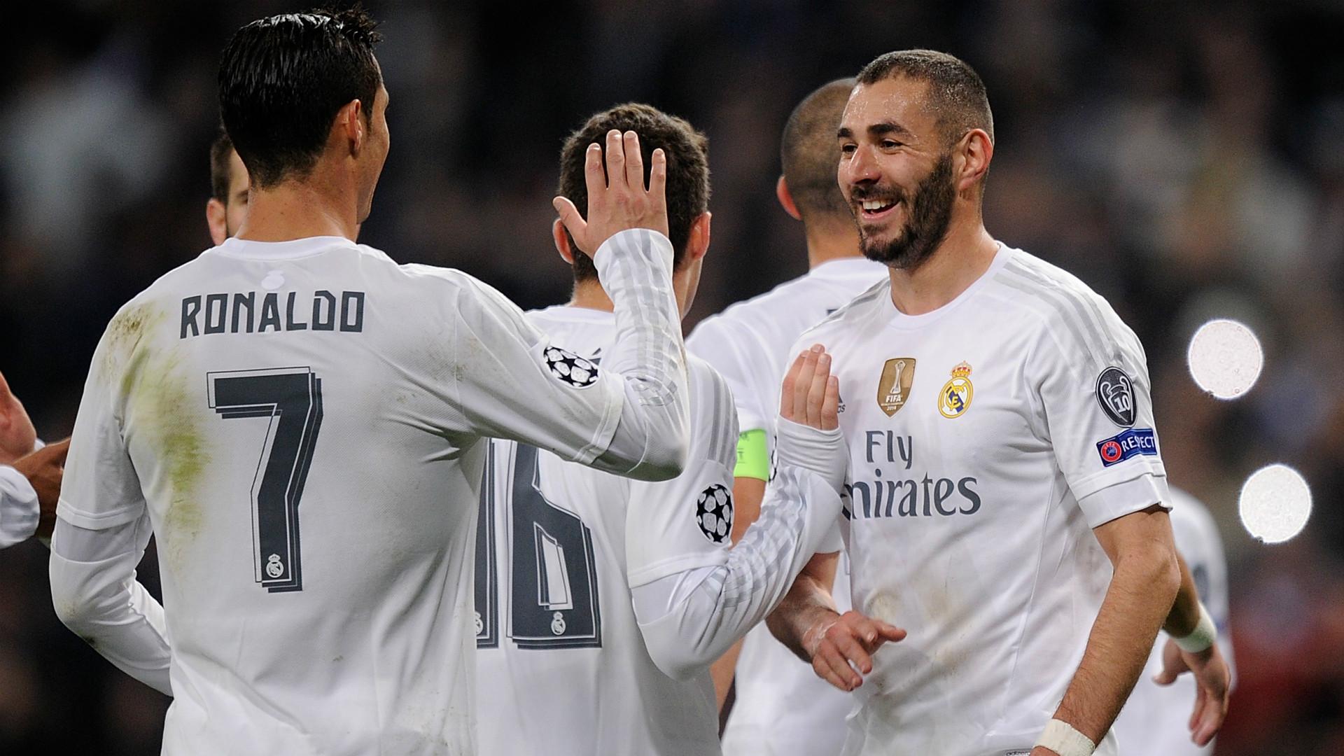 Zidane: Benzema and Ronaldo '100% fit' for Man City clash