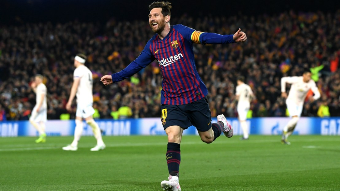 Image result for Pics from the Barcelona 3-0 win against Manchester United UCL game