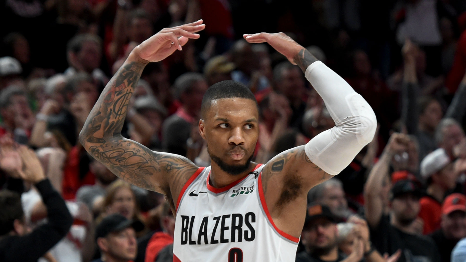 Nba Playoffs 2019 Damian Lillard Warns Blazers Up 2 0