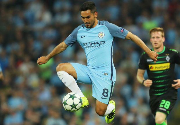 Manchester City's Gundogan itching to step up injury rehab