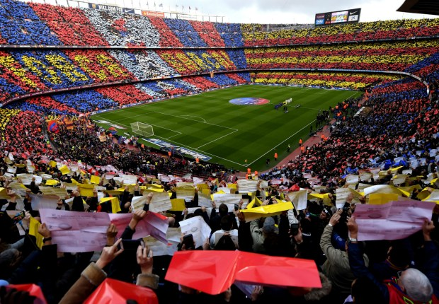 Barcelona post record revenues of €708million