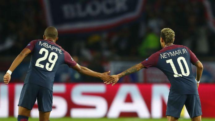 Mbappe y Neymar