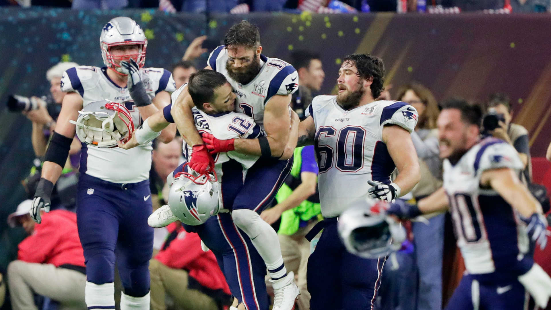 Image result for patriots win super bowl 51