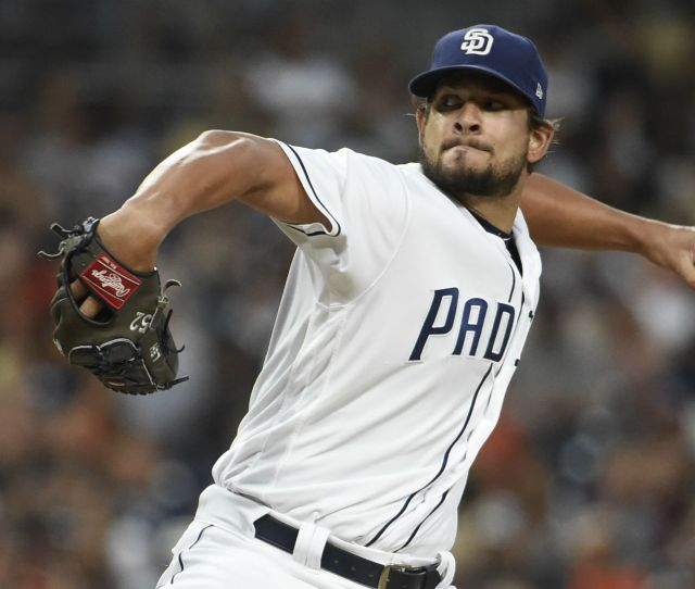 Mlb Trade News Indians Acquire Closer Brad Hand From Padres To Bolster Bullpen