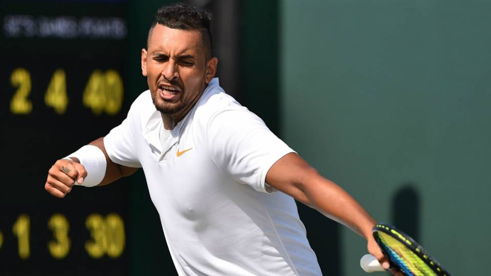 Wimbledon 2018 Nick Kyrgios Is The Most Talented Player