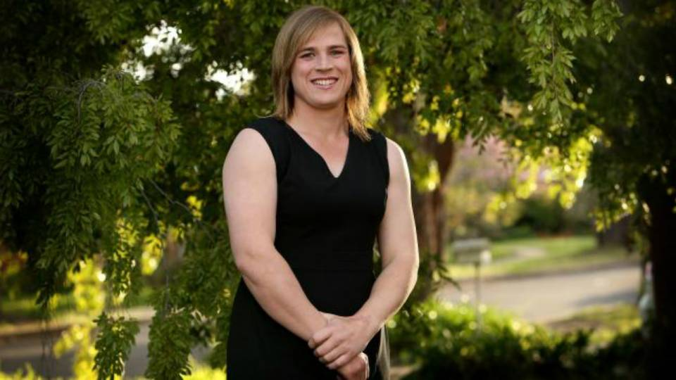 Hannah Mouncey S Aflw Draft Application Rejected Afl