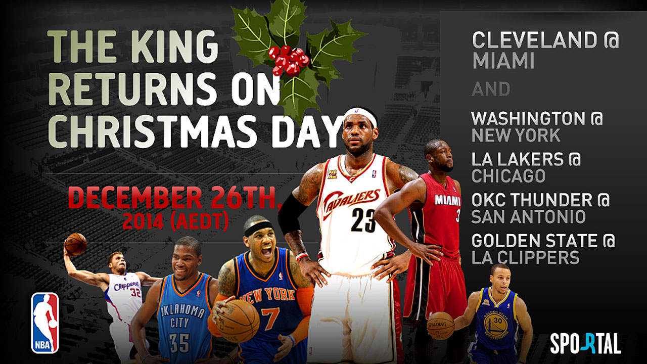 Nba Nba Season Schedule Release 2014 15 As Cleveland