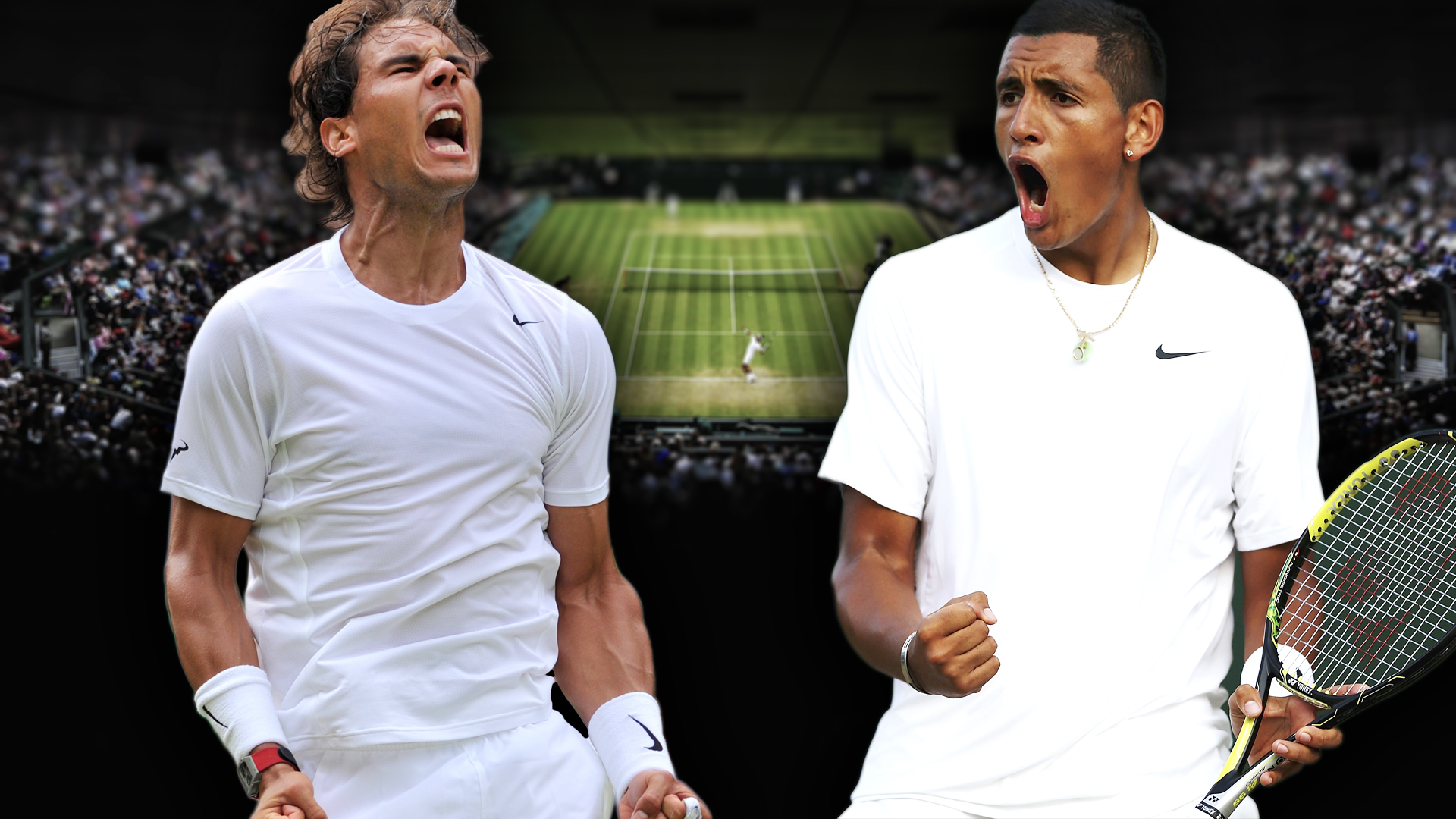 Image result for Nadal & Kyrgios