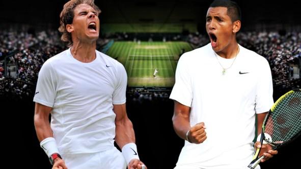 Image result for Nadal & Kyrgios