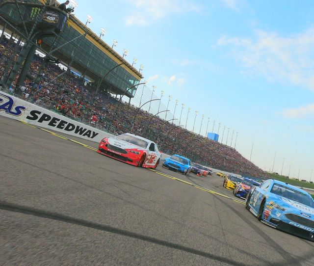 What Channel Is Nascar On Today Time Tv Schedule For Kansas Race Sporting News