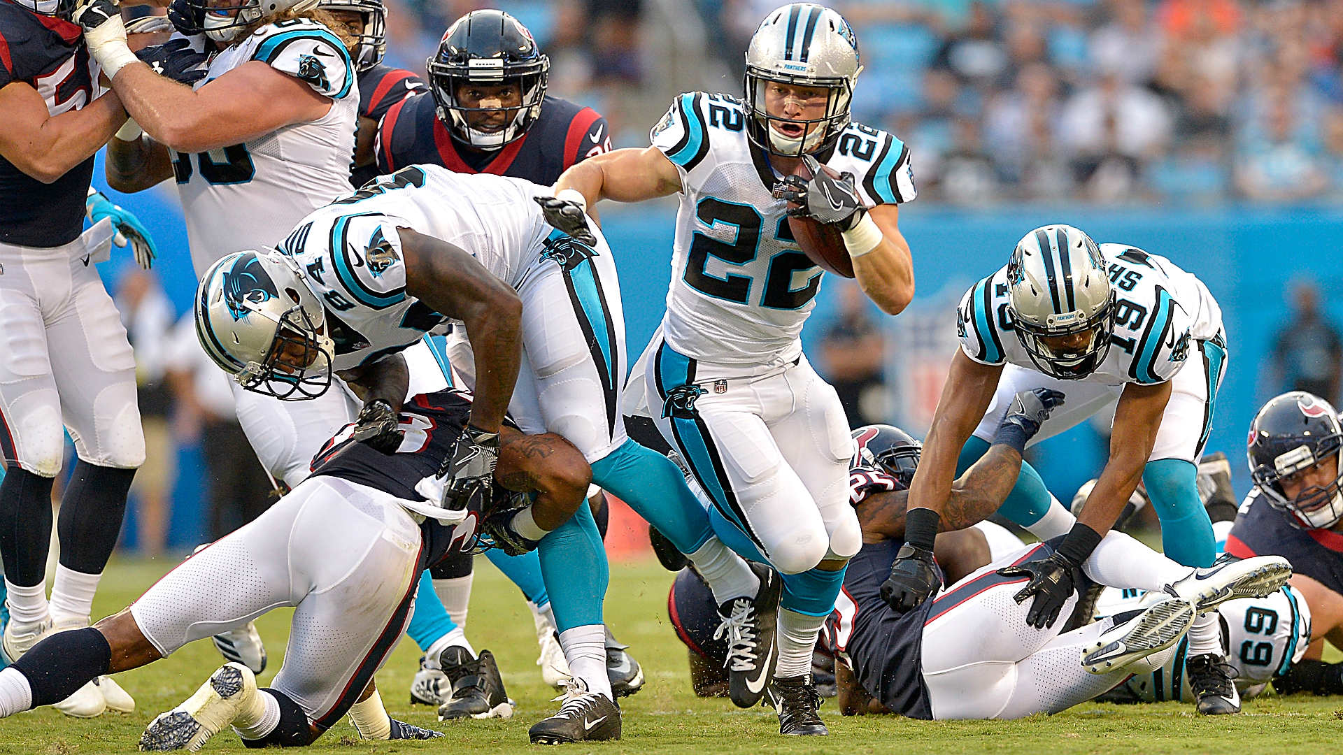 Christian Mccaffrey's Strong Panthers Debut Adds Mystery
