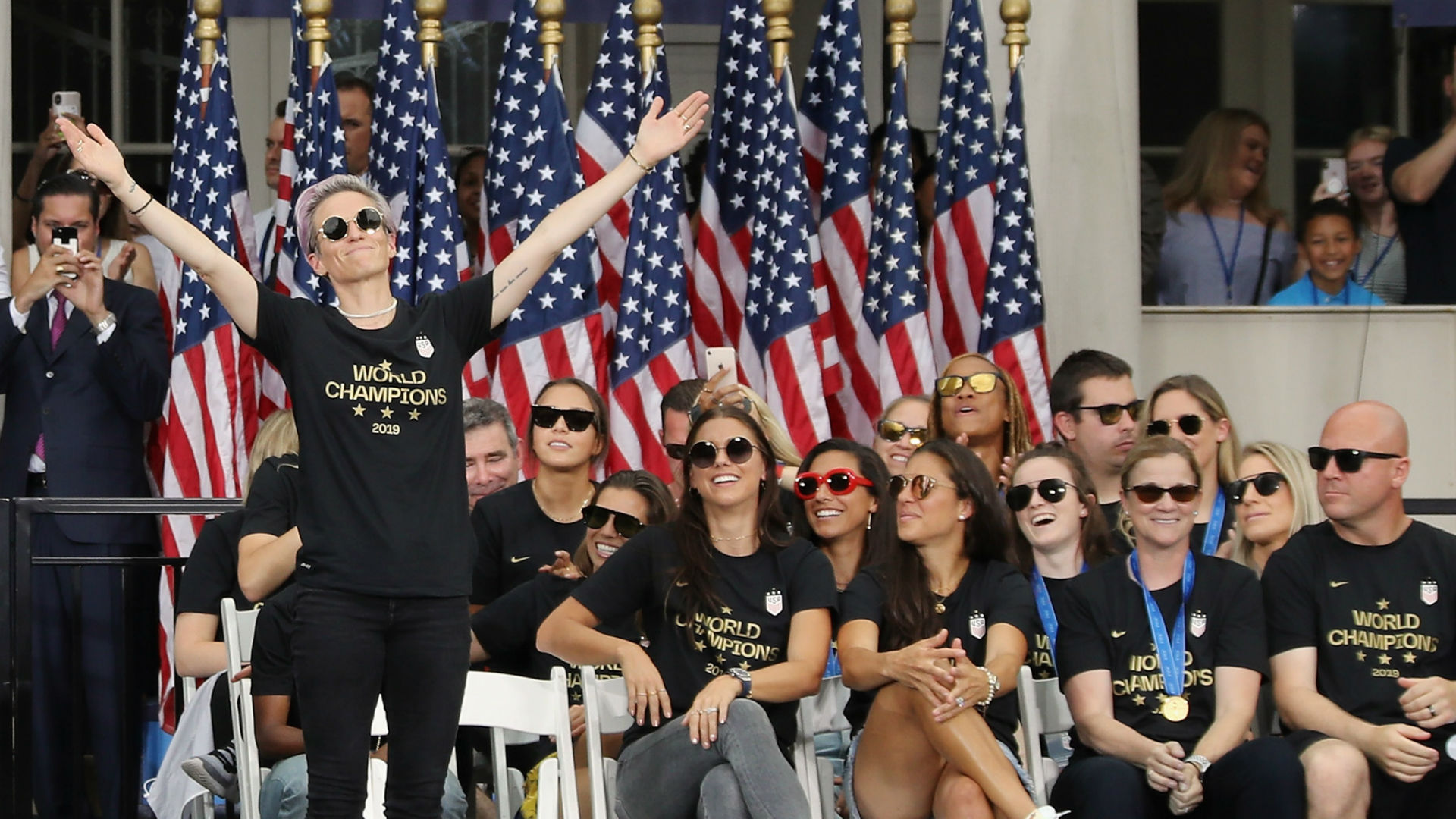 Hall of Famer Julie Foudy: 'Equal pay' fight by Megan Rapinoe, USWNT about so much more
