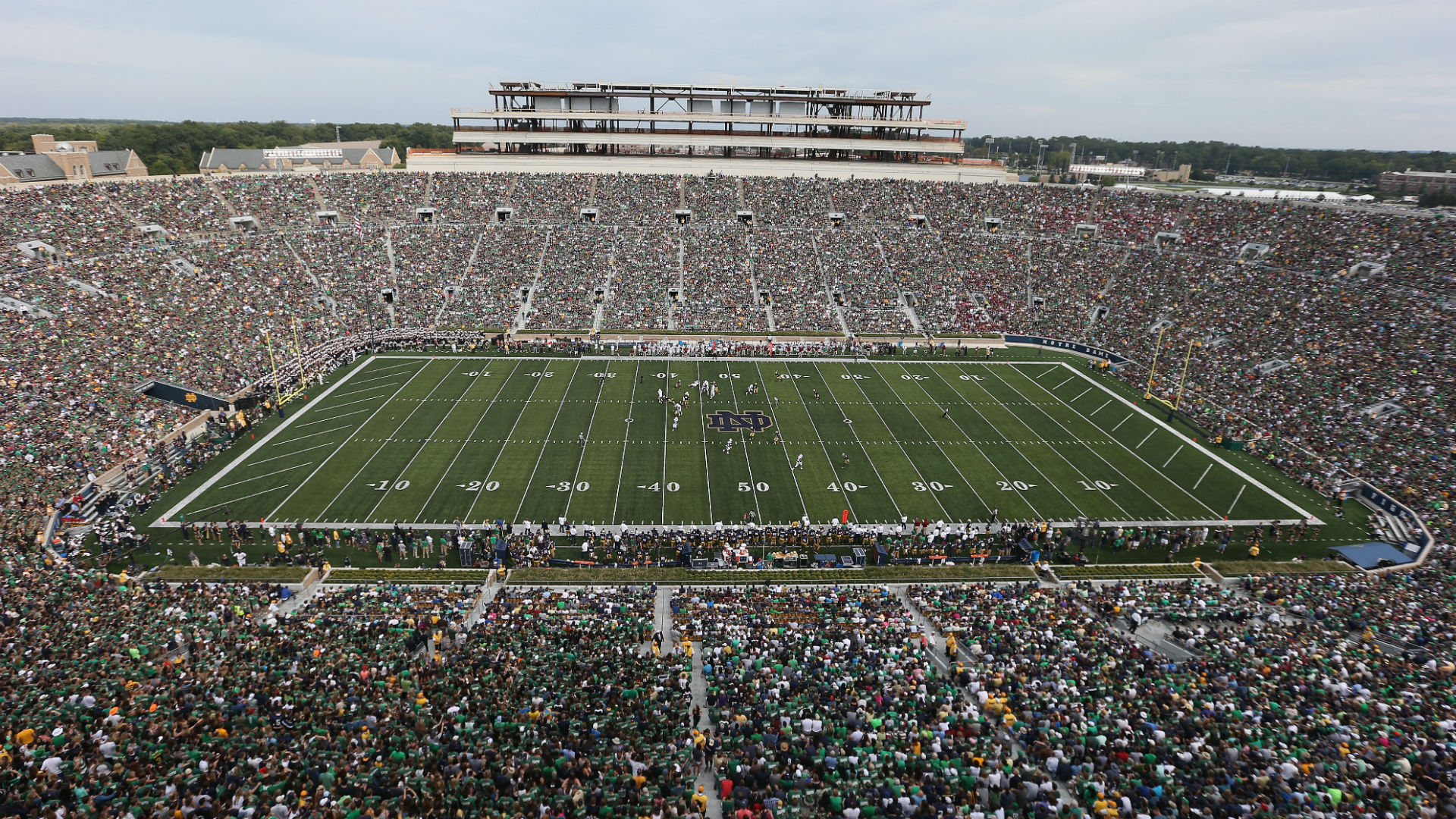 Nhl announces winter classic at notre dame stadium between bruins and blackhawks also rh sportingnews