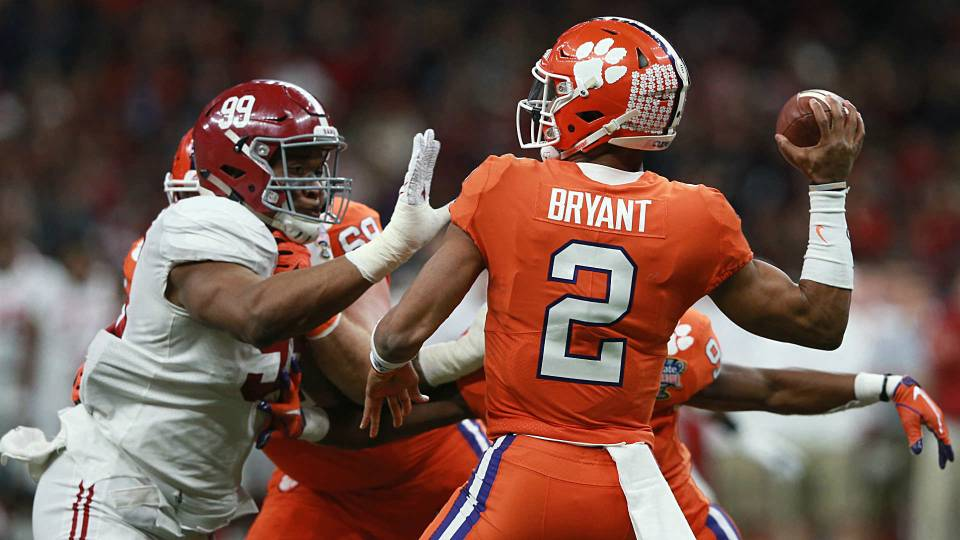 College Football Rankings 2018 Alabama Clemson Top