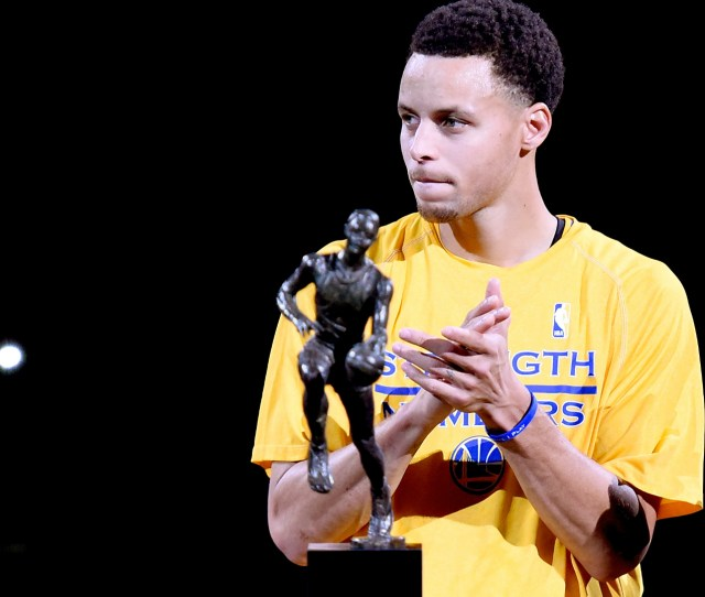 Stephen Curry After Mvp Speech And Spectacle Finally Finds Some Silence Nba Sporting News