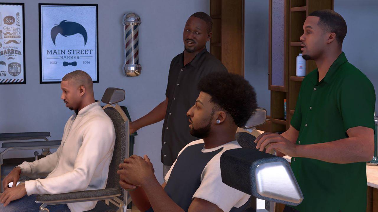 NBA 2K17 Story Mode Co Stars Michael B Jordan And