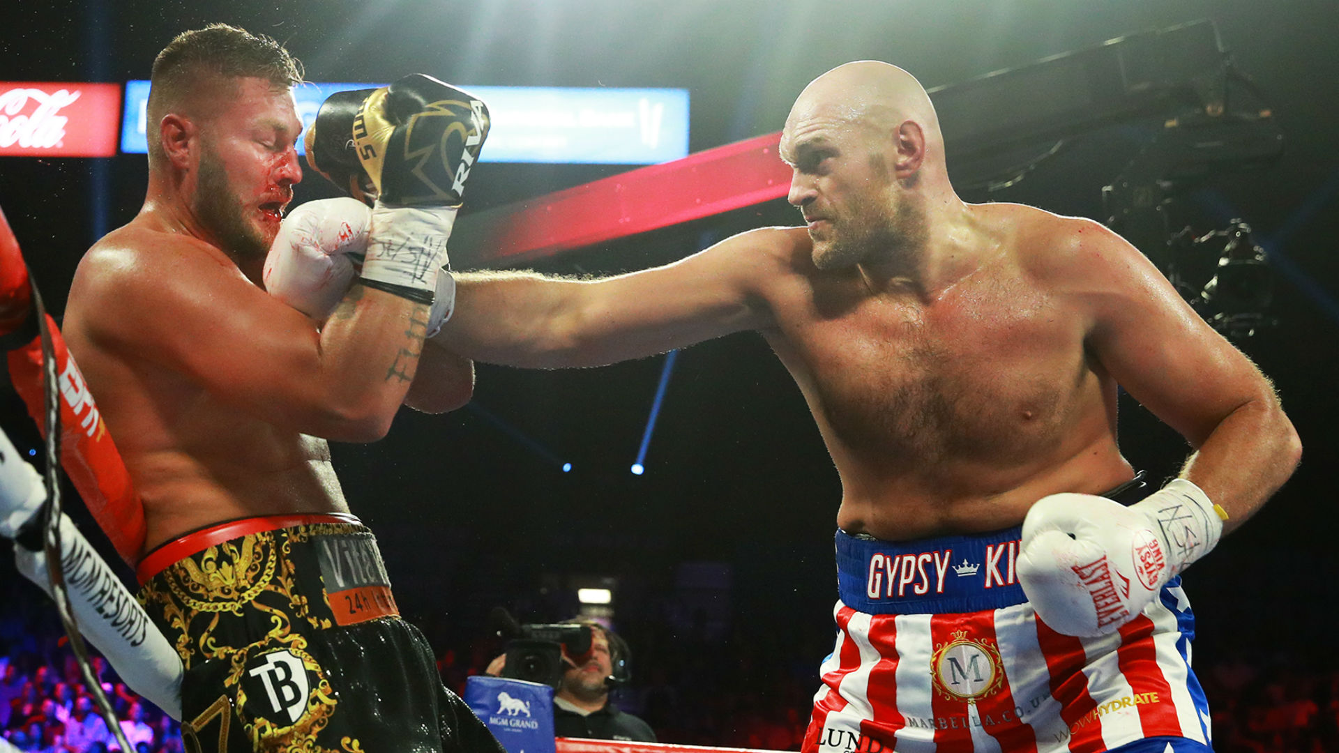 Fury Vs Schwarz Results Tyson Fury Steamrolls Tom