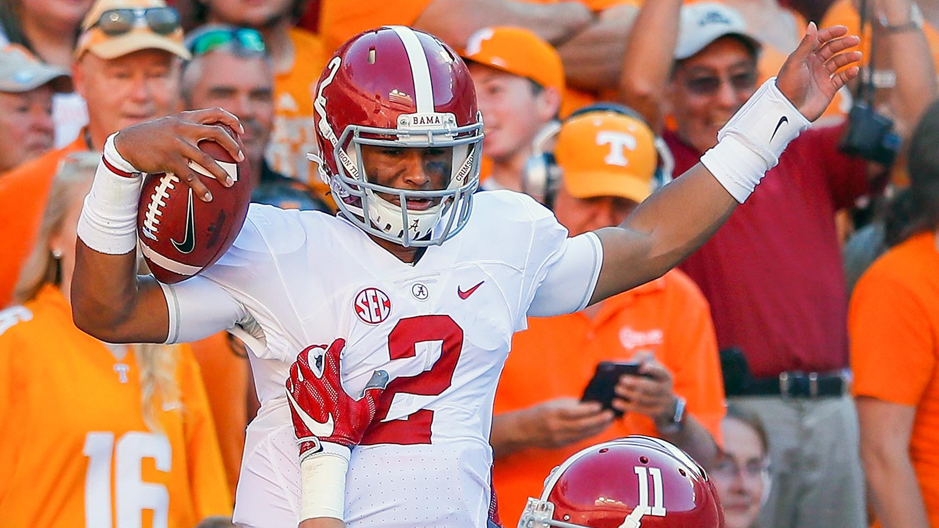Alabama t-freshman QB Jalen Hurts