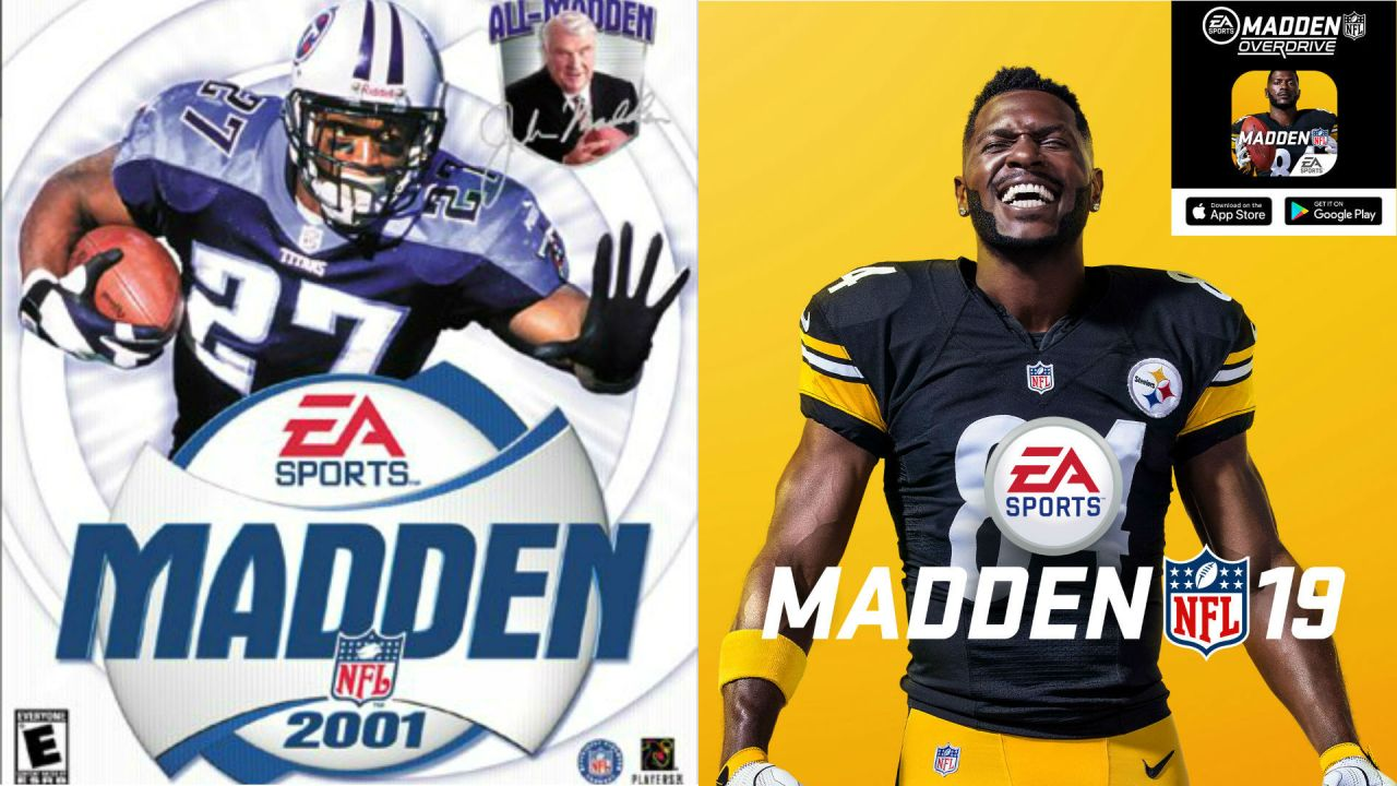 madden cover athletes since