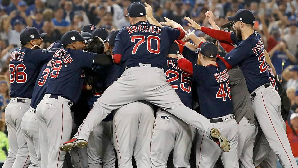 World Series 2018 results Red Sox showcase power win