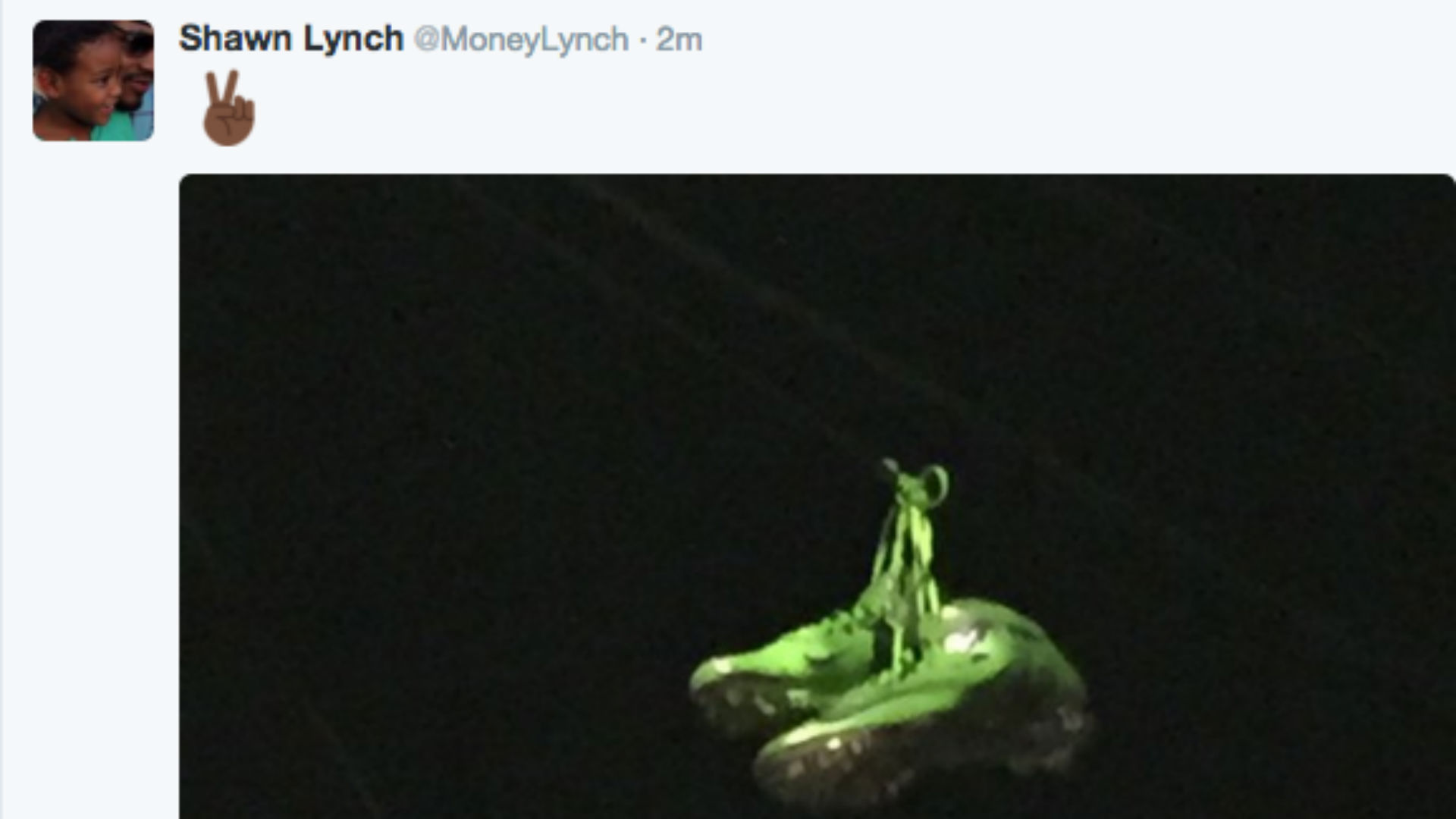 Did Marshawn Lynch Just Announce His Retirement On Twitter