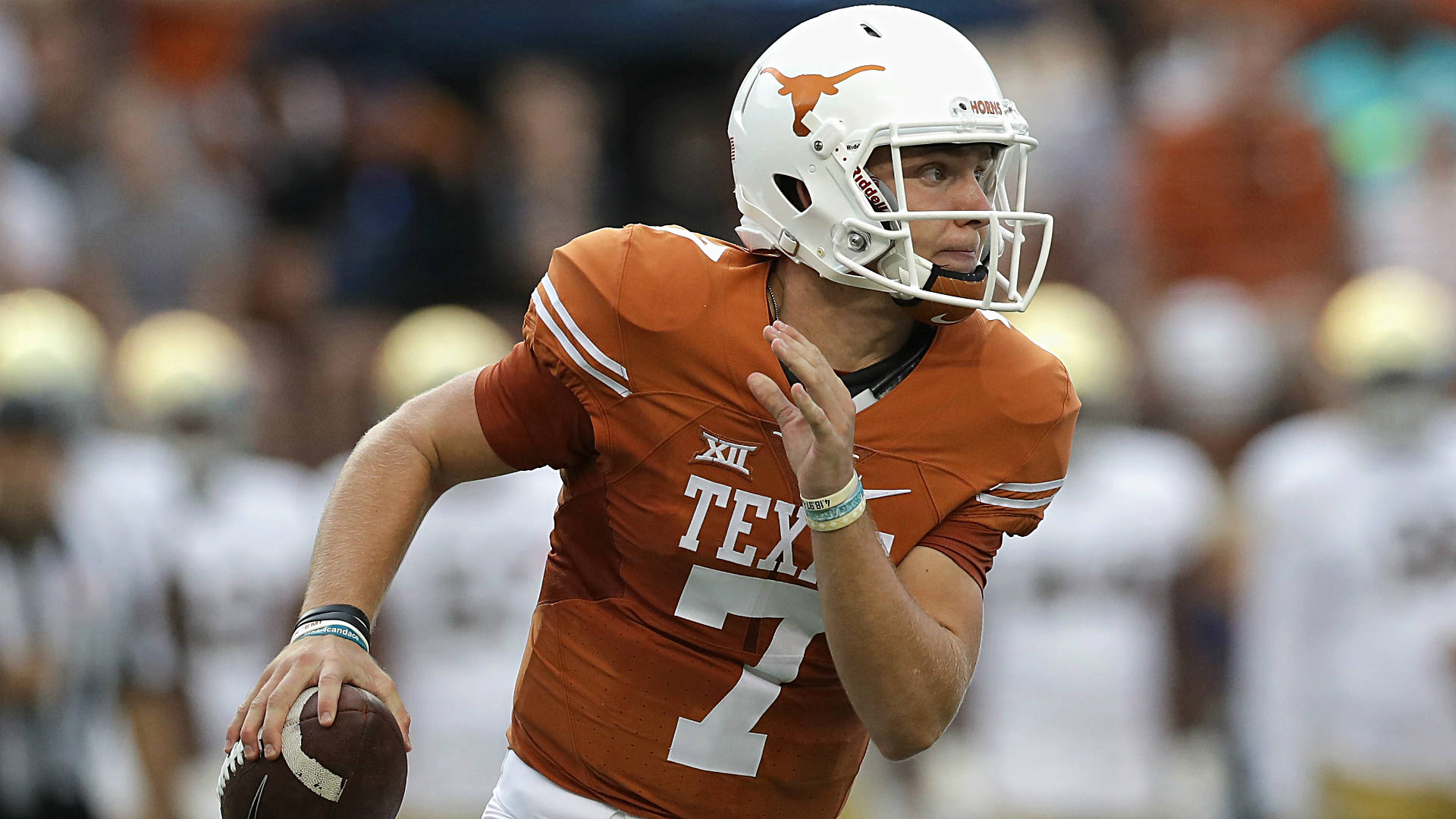 Image result for 2017 texas longhorns football Shane Buechele