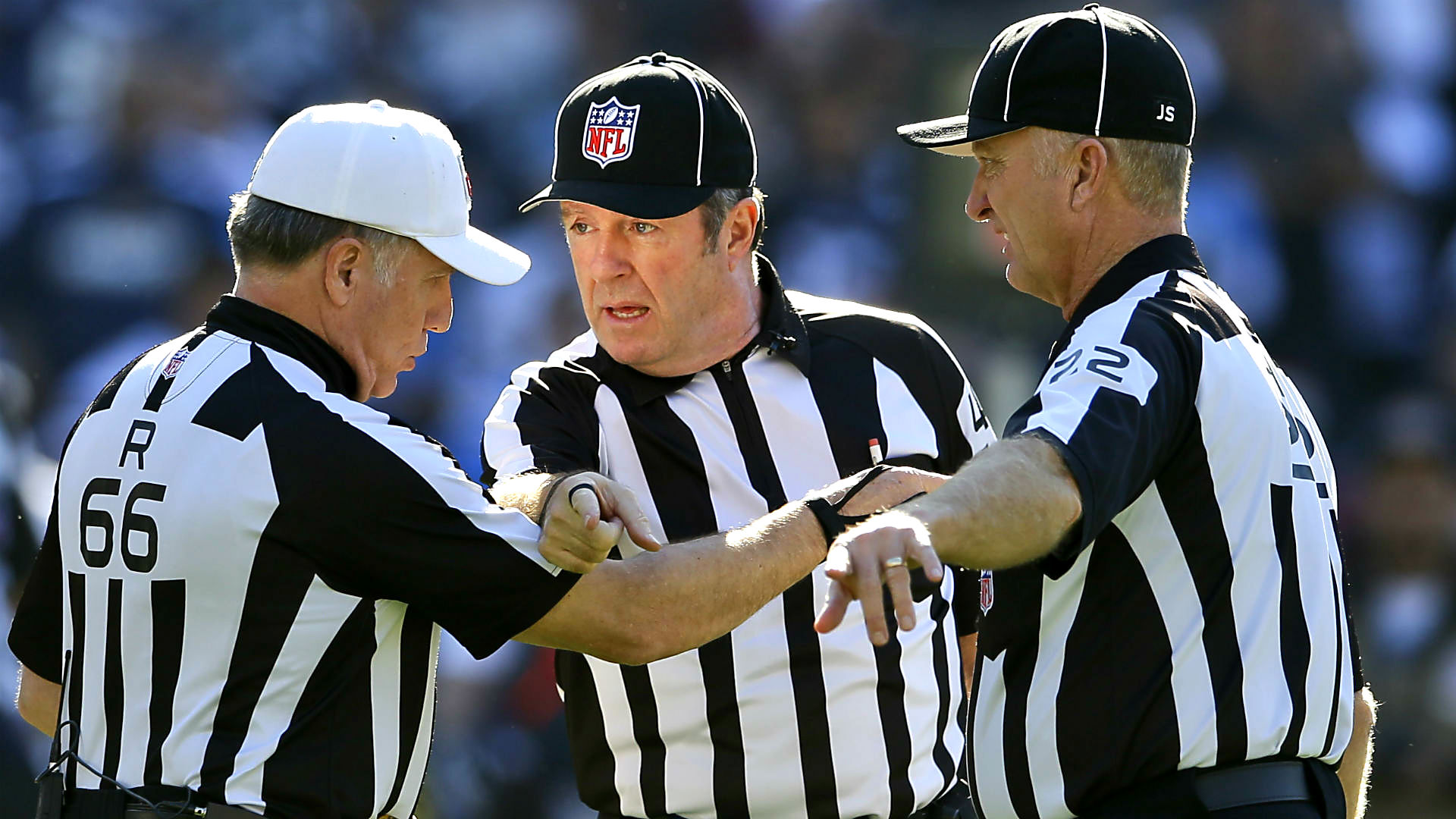 Leave The Refs Alone, It's Not Their Fault Your Team Lost