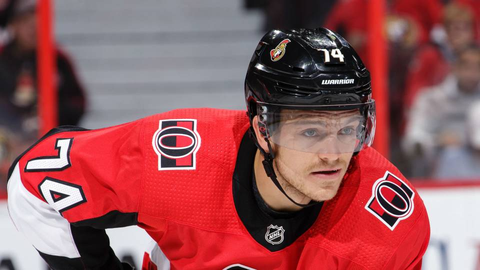 Senators Mark Borowiecki Suspended One Game For Elbowing