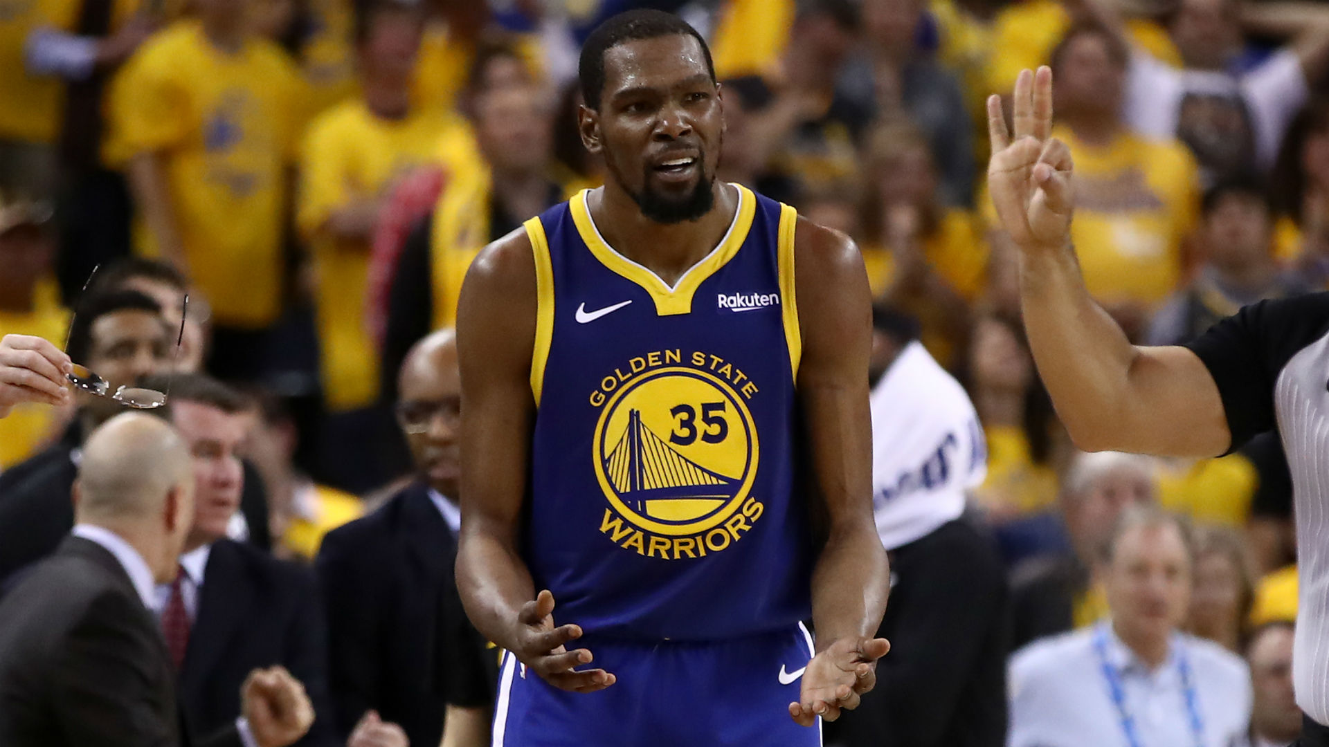 Kevin Durant Challenges Comments From Fox Sports Chris