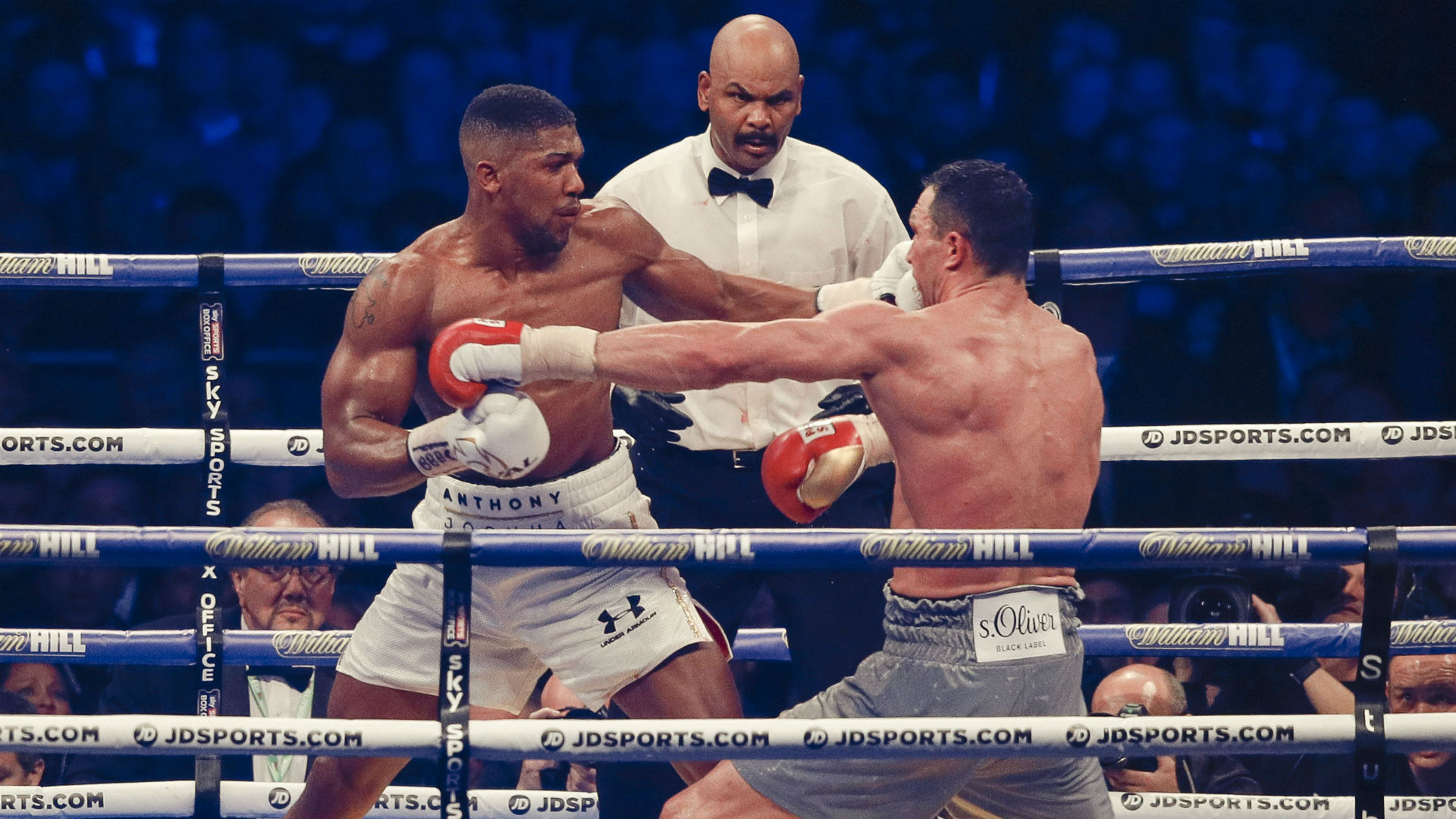 Image result for anthony joshua vs. wladimir klitschko