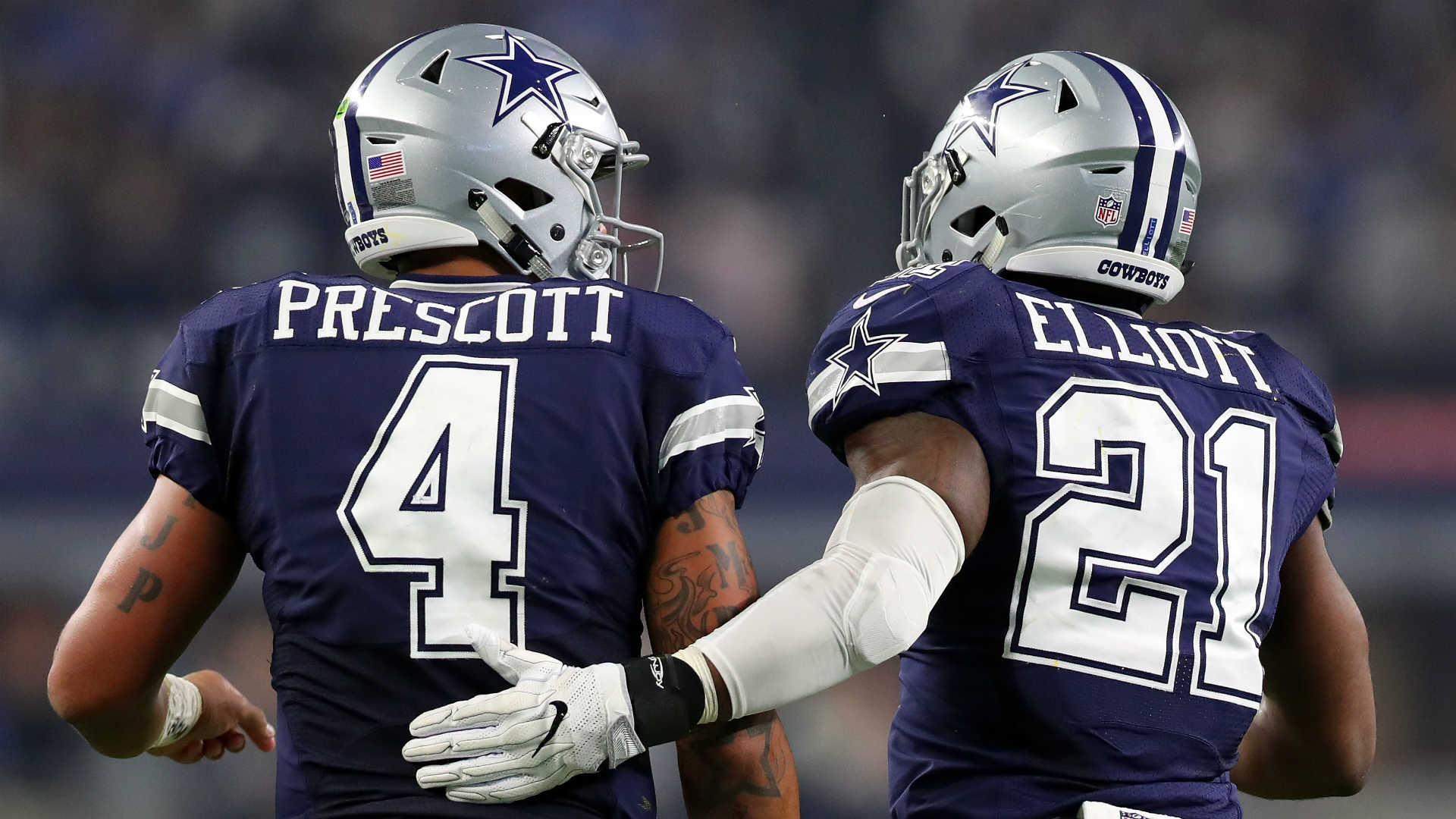 Image result for images of dak prescott and ezekiel elliott