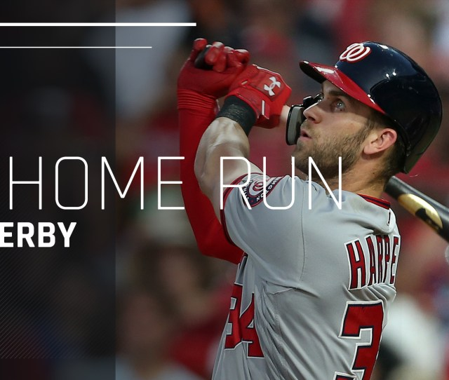 Mlb Home Run Derby  Results Bryce Harper Mashes Epic Dingers To Take Derby Crown