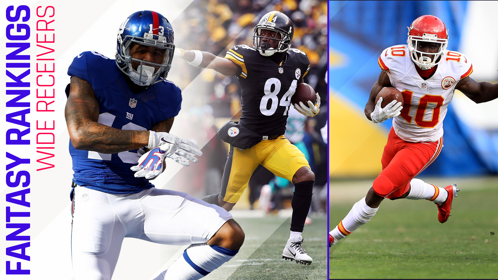 Fantasy football rankings wide receiver also sporting news rh sportingnews