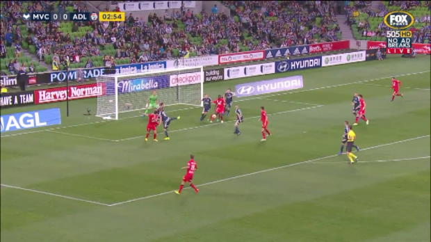 Rojas stars as Victory outclass Adelaide